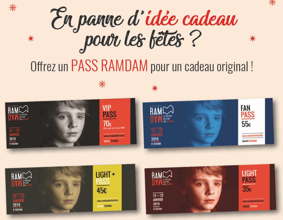 En panne d'idée cadeau pour les fêtes ? Offrez un Pass Ramdam !